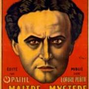 French Poster Advertising Harry Art Print