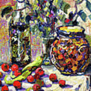 French Provence Cooking Still Life Art Print