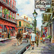 French Quarter Antiques Art Print by Dianne Parks
