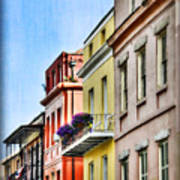 French Quarter In Summer Art Print