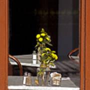 French Quarter Resturant-signed-#4856 Art Print