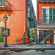 French Quarter Trio Art Print