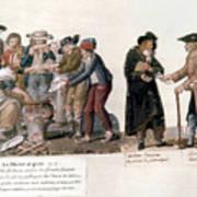French Revolution, 1795-96 Art Print