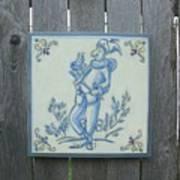 French Tile 1 Art Print