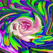 French Wild Rose Art Print