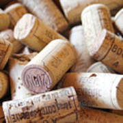 French Wine Corks Art Print