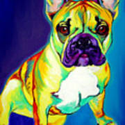 Frenchie - Tugboat Art Print