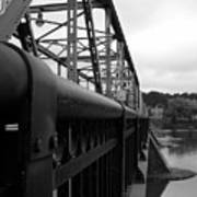 Frenchtown Bridge Art Print