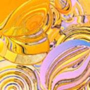 Frenetic Fresnels Art Print