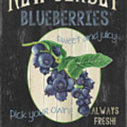 Fresh Berries 1 Art Print