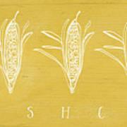 Fresh Corn- Art By Linda Woods Art Print