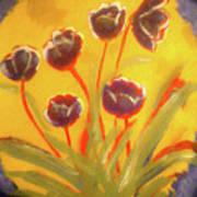 Fresh Flowers- 2nd In Series- The Dawn Art Print