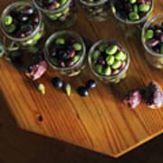 Fresh Harvested Olives And Tunas Art Print