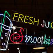 Fresh Juices Art Print