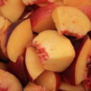 Fresh Peaches Art Print