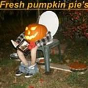 Fresh Pumpkin Pie's Art Print