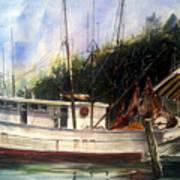 Fresh Shrimp Alabama Art Print by Don F  Bradford