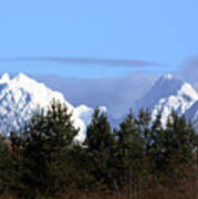 Fresh Snow On Golden Ears Art Print