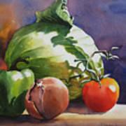Fresh Vegetables Art Print