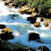 Fresh Water - Colorado Rockies Art Print