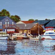 Freshwater Fishers Art Print