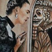Frida Catrina Art Print