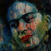 Frida Kahlo Colourful Icon  Art Print