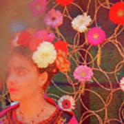 Frida Kalho Inspired Art Print