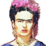 Frida Art Print by Russell Pierce