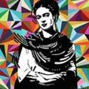 Frida Stay True Art Print