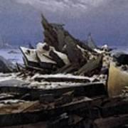 Friedrich Caspar David The Sea Of Ice Art Print