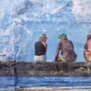 Friends In Paradise Art Print