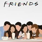 Friends Serial Minimalist Poster