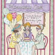 Friendship Cafe Art Print