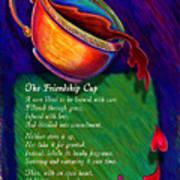 Friendship Cup Art Print