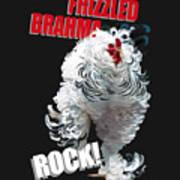 Frizzled Brahma T-shirt Print Art Print