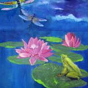 Frog Dreams Art Print