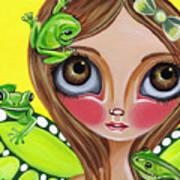 Frog Fairy Art Print