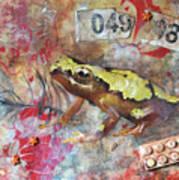 Frog Prince Art Print by Jennifer Kelly