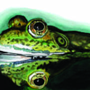 Froggin Around Art Print