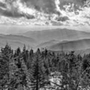 From Clingmans Dome Art Print