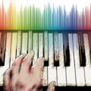 From Keyboard To Keyboard Art Print