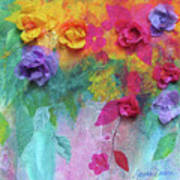 From My Garden Art Print