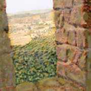 From The Castle Walls Art Print