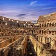 From The Floor Of The Colosseum Art Print
