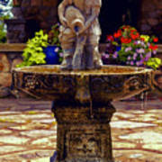 From The Fountain Art Print