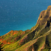 From The Hills Of Kauai Art Print