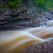 From The Top Of Temperence River Gorge Art Print