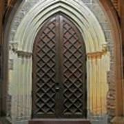 Front Door Christ Church Cathedral 4 Art Print