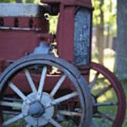 Front End Of A Mccormic Deering Tractor Art Print